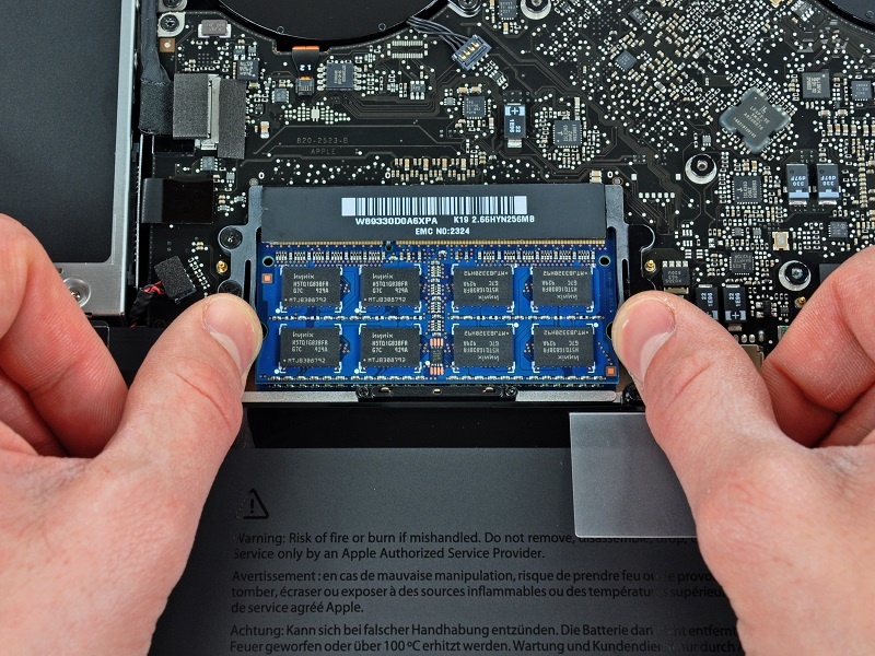 macbook laptop memory ram